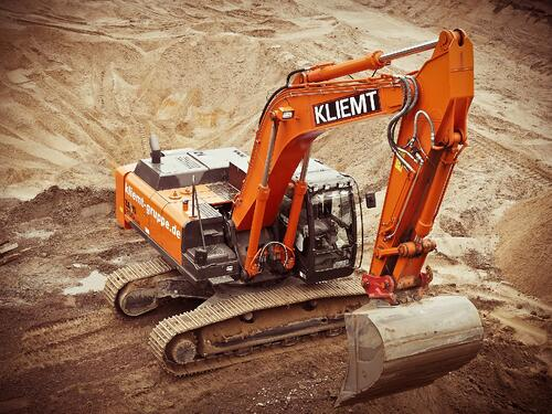 Track Excavator training safety and equipment training