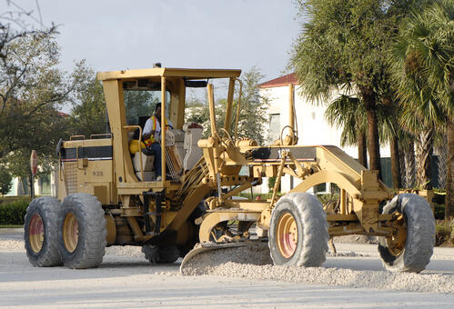 Grader training safety and equipment training