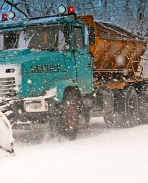 Sanding Truck